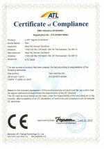 NTC CE Test Certificate