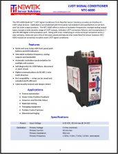 NTC-6000 Datasheet