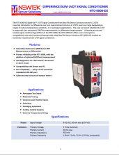 NTC-6000-DS Datasheet Image